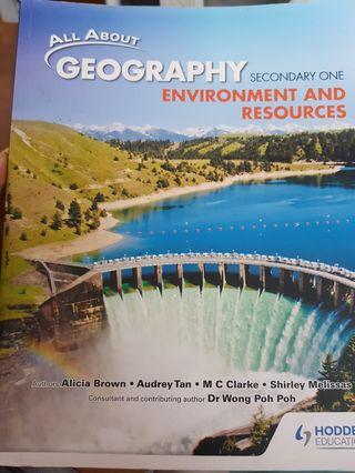 🚚 Sec 1 Geography Textbook