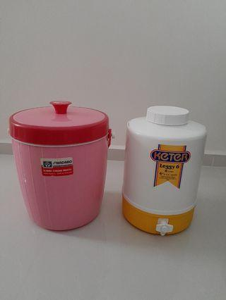 Reangwa Hot Cold Insulated Container 9L + Keter 6L
