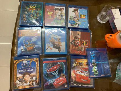 Pixar 港版 bd