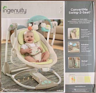 Ingenuity Baby Swing - Quiet and Soothing
