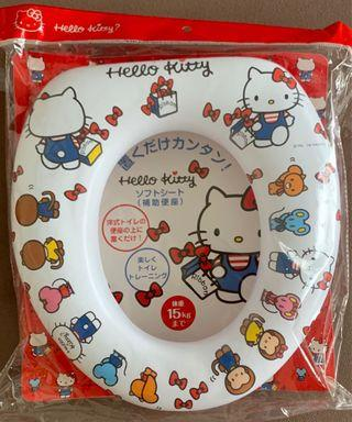Hello Kitty Sanrio Toilet Bowl Assist / Trainer / Training