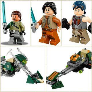 LEGO Star Wars Rebels Kanan Ezra Sabien Speederbike