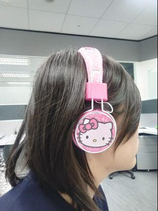 🚚 Hello Kitty 耳罩式高音質耳機
