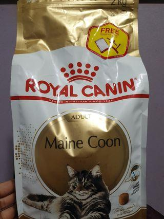 Royal canin maine coon dry food 2kg