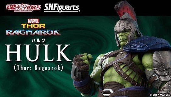 **徵** S.H.Figuarts Hulk Ragnarok 綠巨人 浩克 諸神黃昏