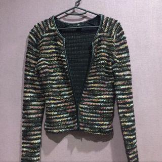 H&M knitted blazer