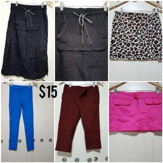 Ladies Pants and Skirts Clearance