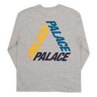 Palace Grey Long Sleeve P3