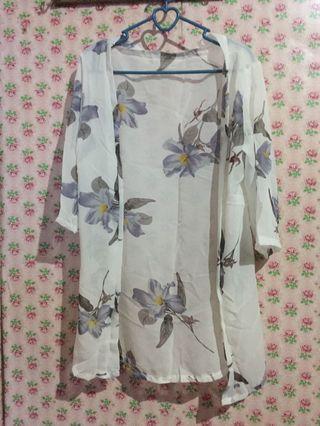 [NEW] Cardigan Kimono Motif Printing