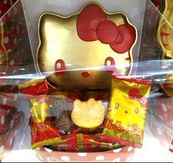 (現貨)Hello Kitty 日本環球 帶回 kitty餅乾 凱蒂貓 餅乾盒 kitty收納盒收藏必備