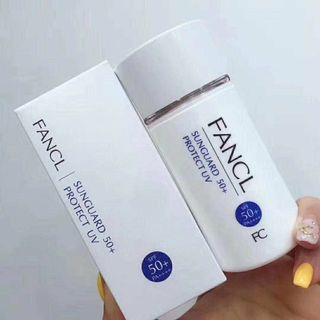 FANCL無添加物理防曬霜60ml