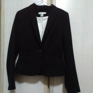 Black Fully·lined Blazer/Jacket