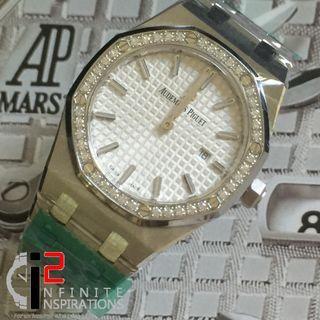 Audemars Piguet Lady RO 67651st White Dial - Brand New Complete Set