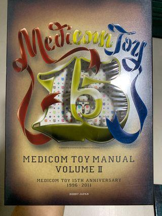 🚚 Medicine Toy Manual Vol 2 and Be@rbrick Worldwide tour 2