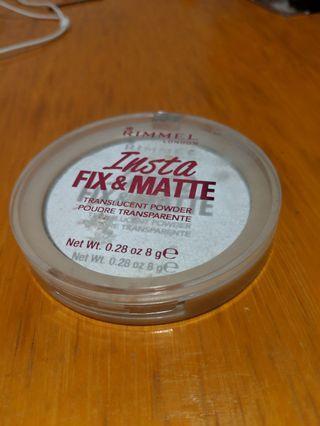 Rimmel translucent powder