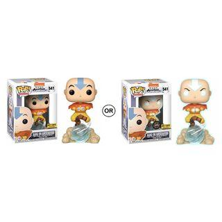 Pre-order Hot topic Aang(air scooter) funko pop(chance of glow chase)