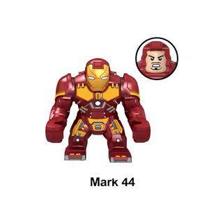 Avengers Iron Man Mark 44 Custom Bricks Not Lego Marvel Tony Stark Super Heroes