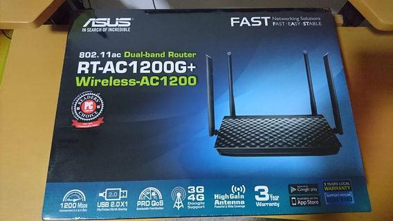 Asus DualBand RT-AC1200G+ Wireless Router