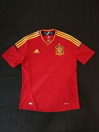 49ca5e6b82f Spain 11/12 Home Football Shirt Jersey Jersi Adidas