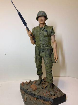 Kirin 1/12 resin model 150mm U.S.Marine.Tet offensive 1968.(designed by Mike Good)自己上色完成品