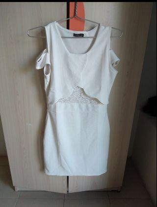 Coupbelle Dress White