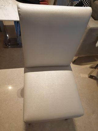 🚚 High Back Custom Made Dining Chairs