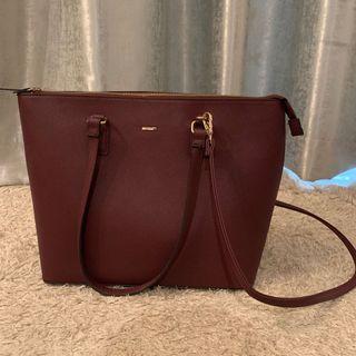 Bershka Handbag Purple