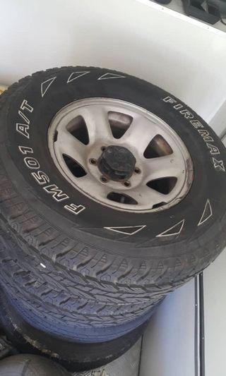 4x4 16 inci A/T Tyre size 265/70/16