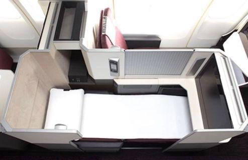 Japan Airlines Business Class Singapore to Tokyo