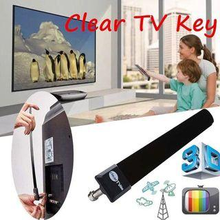 As Seen On TV Indoor 1080p HDTV FREE TV Digital Clear TV Key Antenna Cable