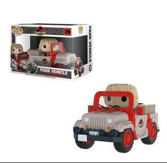 FUNKO POP Jurassic Park Vehicle