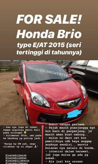 Honda Brio (NEGOTIABLE)