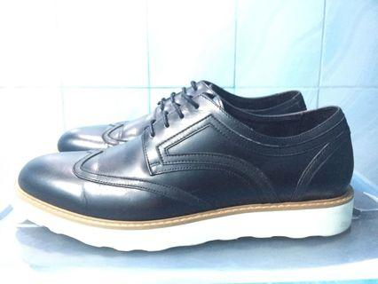 Pedro Black Leather Shoes