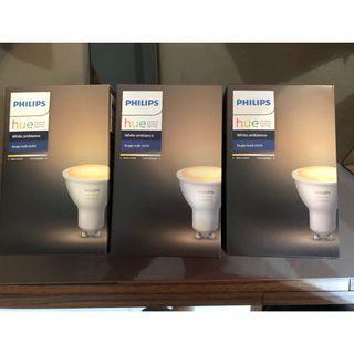 Philips hue Bridge and GU10 Hue Bulb set