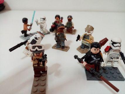 Star wars original lego mini figs