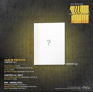 STRAY KIDS CLÉ2 YELLOW WOOD LIMITED EDITION ALBUM