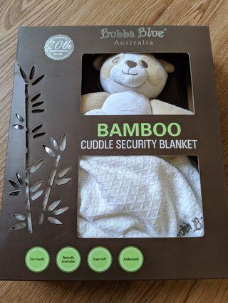 🚚 Bubba Blue Bear Security Blanket Comforter