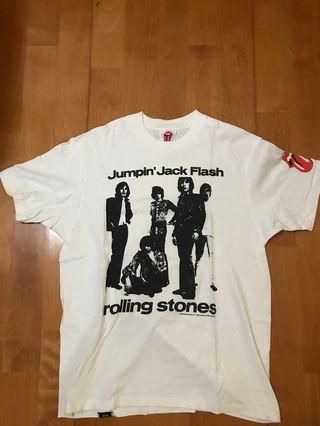 Hysteric Glamour Rolling Stones Size L Made in Japan