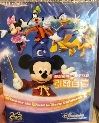 迪士尼美語體驗版未拆膠紙$10包郵