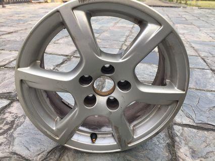VW Polo TSI 1.2 15 inch rims (1x)