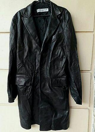 MARCELLO PAMPALONI Firenze Black Leather Jacket