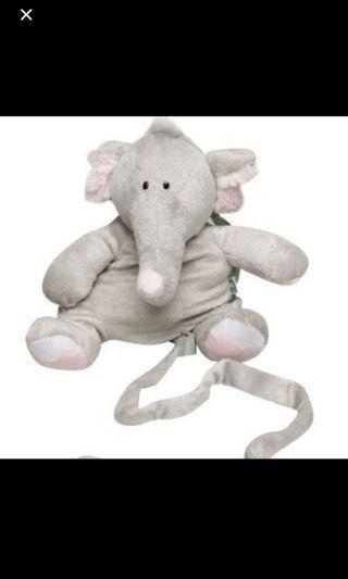 Elephant Soft Toy and Harness for child