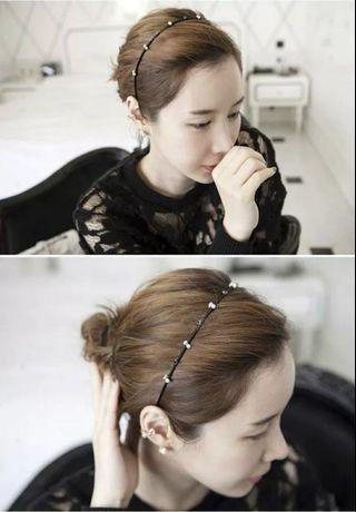 韓式美髮 | 清雅頭箍