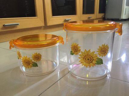 🚚 向日葵收納罐組