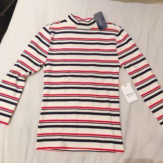 🚚 Striped Jersey Top