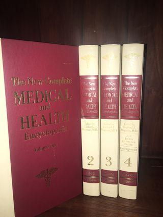 🚚 The New Complete Medical and Health Encyclopedia volume 1-4