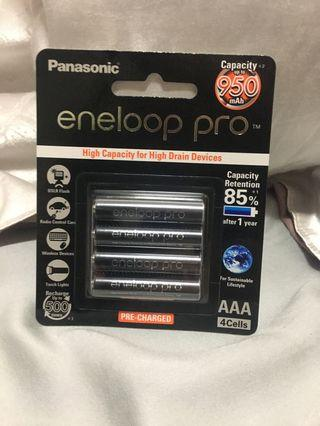 950mAh Eneloop AAA rechargeable battery