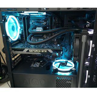 (10核 20線)MSI X99 E5 2649 V3 超強電腦套裝即買即用