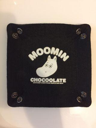 Chocolate x moomin 雜貨兜(絨布)