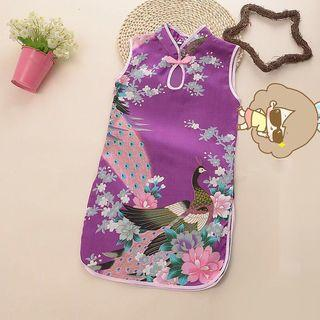 🚚 Toddler baby cheongsam Dress Chinese outfit